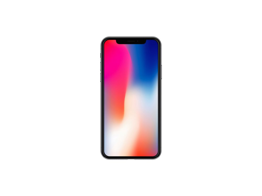 Front View iPhone X free PSD