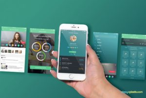 iPhone Perspective Screen free PSd
