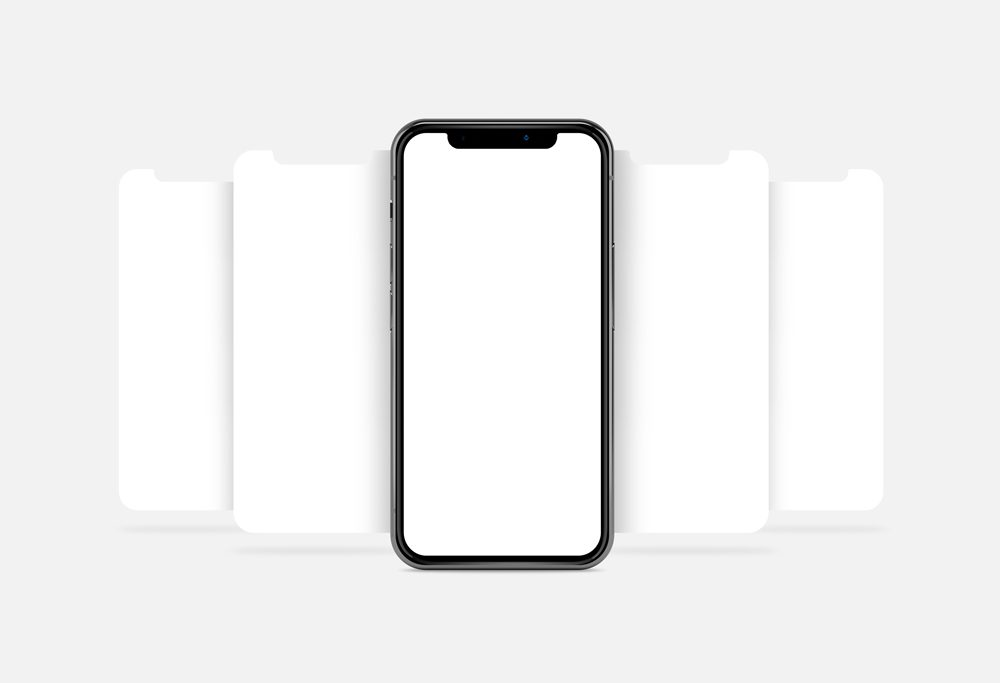 iPhone X Showcasing free PSD