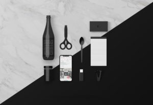 Various Desk Objects free PSD