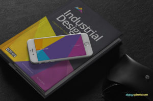 5 iPhone 6 Photorealistic free PSD Mockups