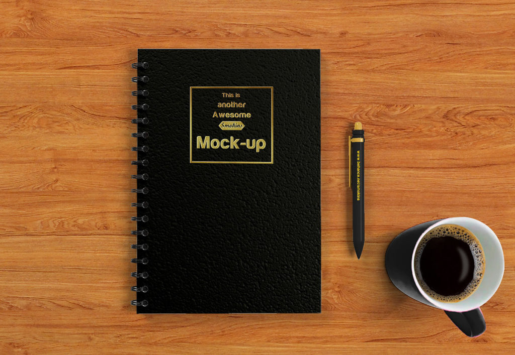 Notebook Mockup – Exceptional Collection Totally for FREE