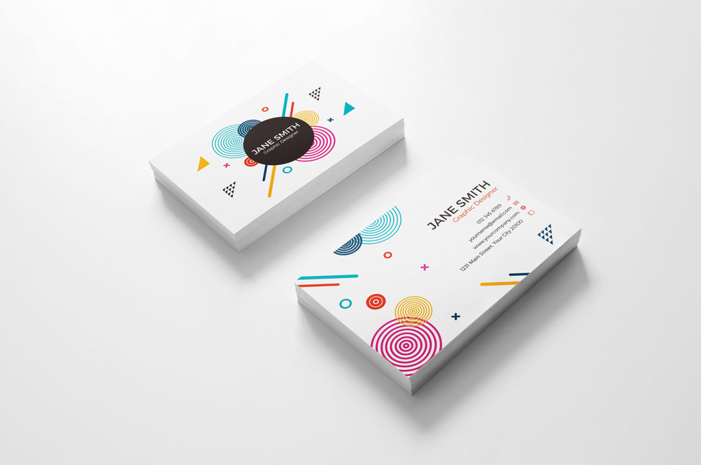 Business Card Branding free PSD Mockup Collection