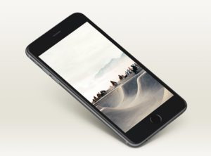 Detailed iPhone 6 Plus Mockup