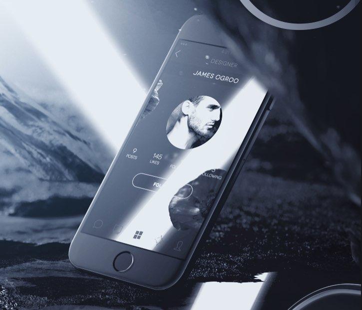 Elegant White iPhone 6 Mockup
