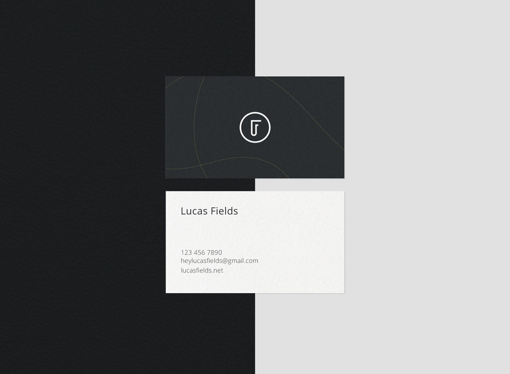 Small Business Card Mockup