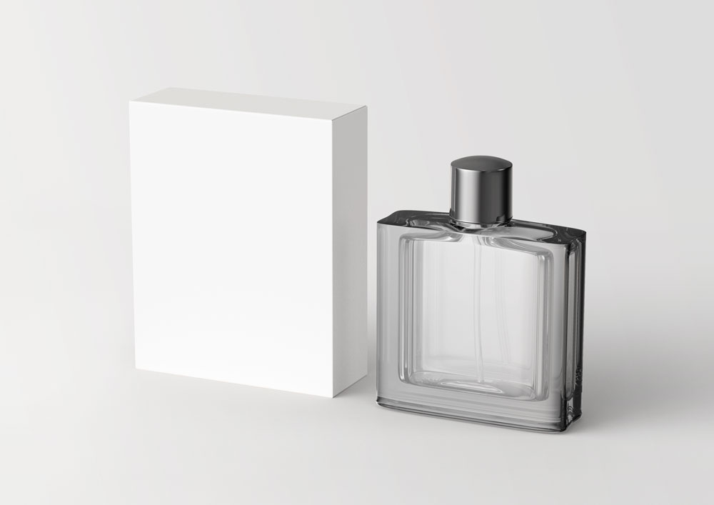 Free Perfume Packaging mockup