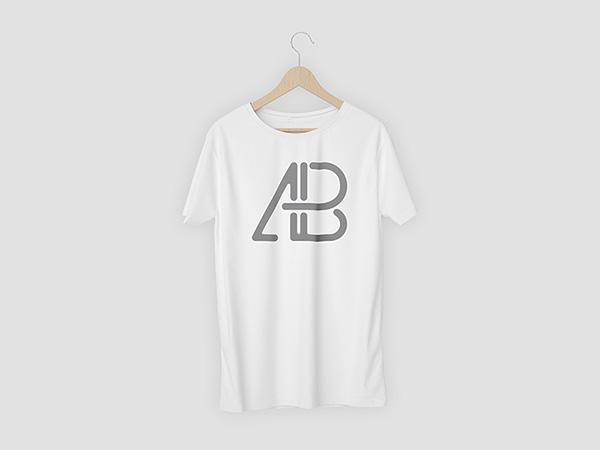 Attached T-Shirt Mockup PSD