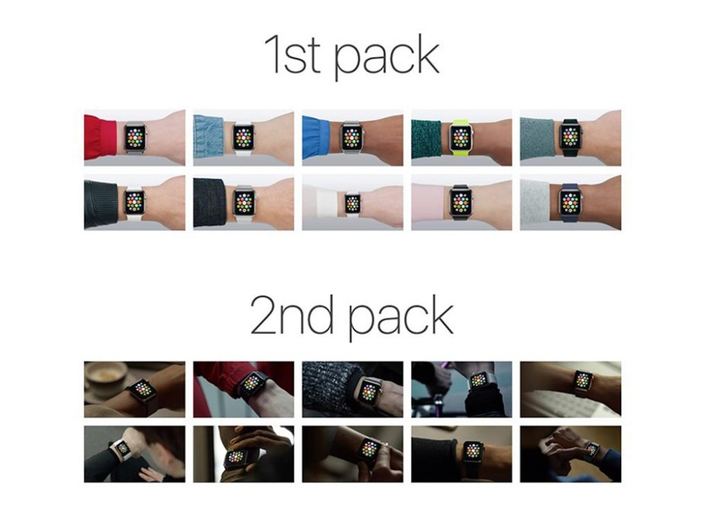 Collection of Apple Watch Mockups
