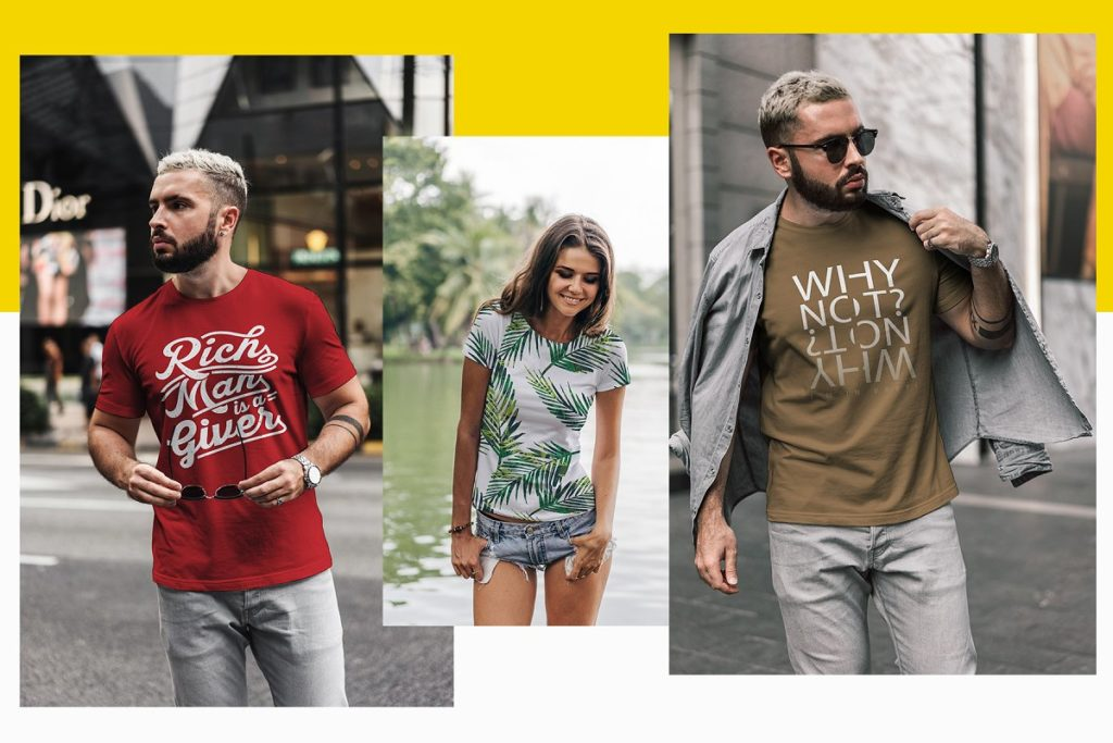 Best 20+ T-Shirt Mockup Bundle