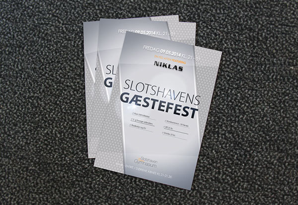 Classic Flyer Mockup PSD