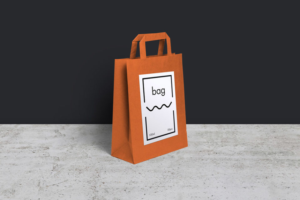 Simple Shopping Bag Mockup