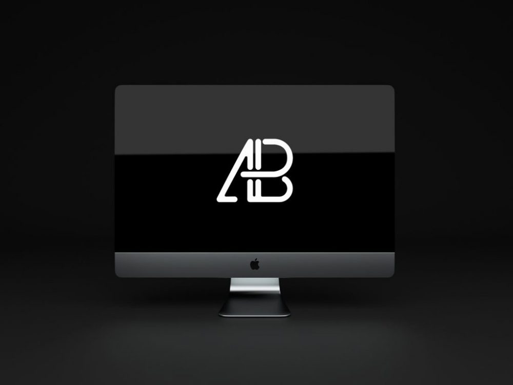 Animated Free iMac Mockup