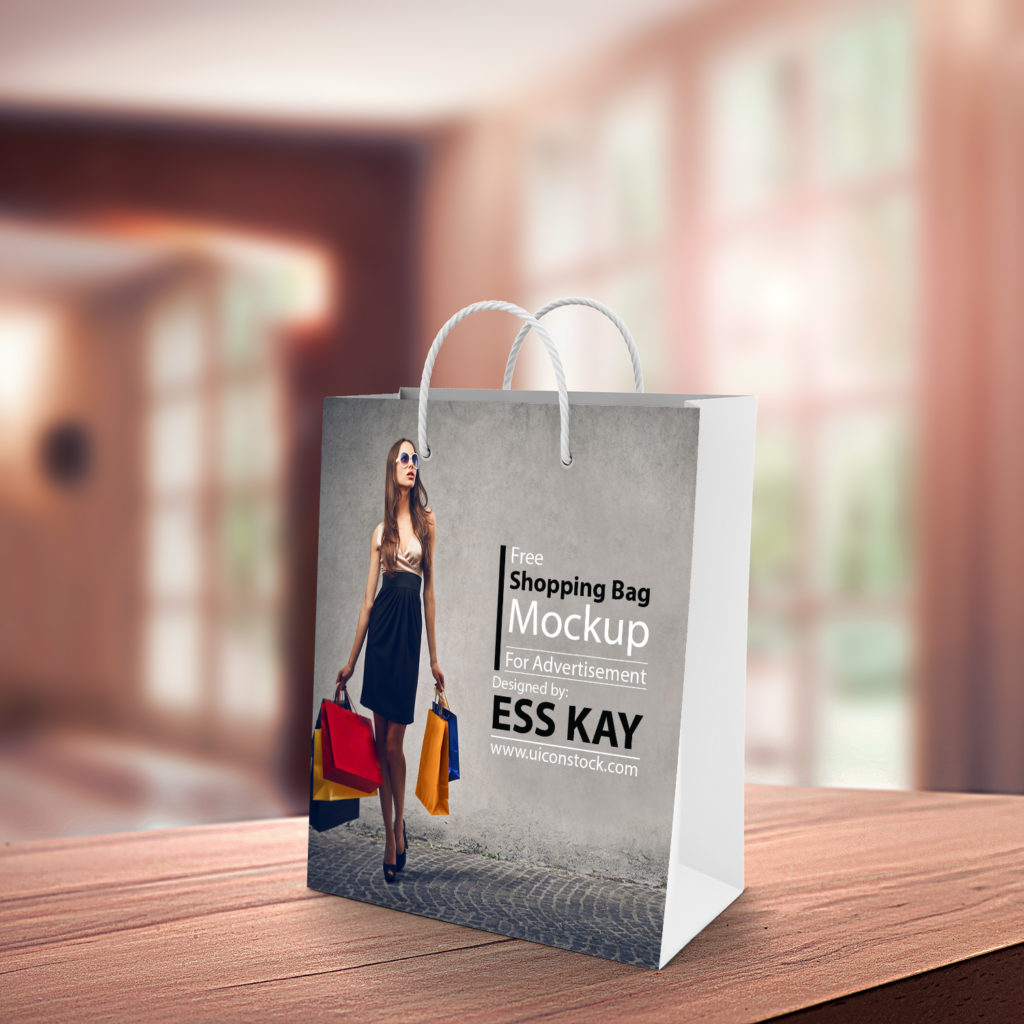 Cool Shopping Bag Mockup Free