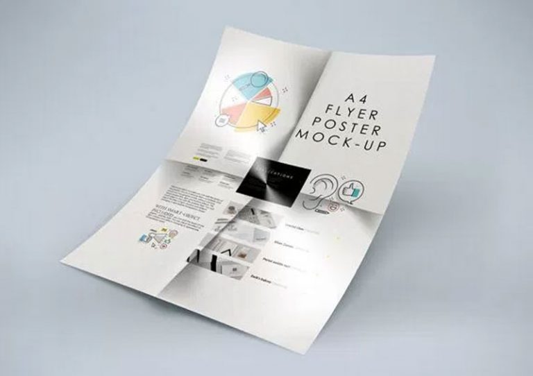A4 Poster Mockup Free