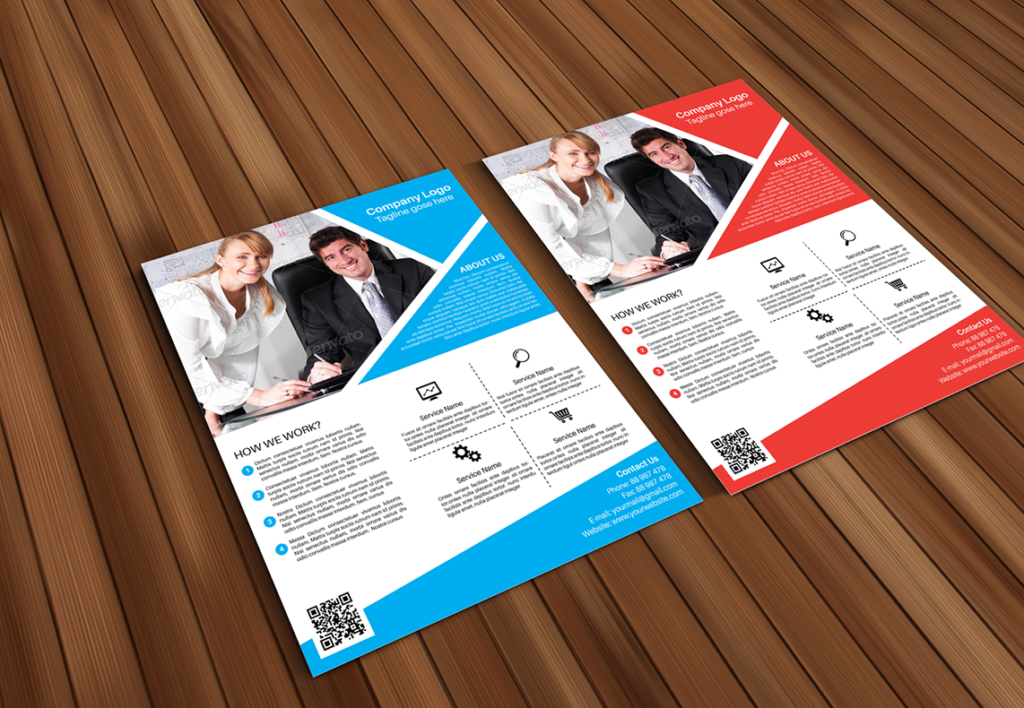 Formal Poster Template PSD