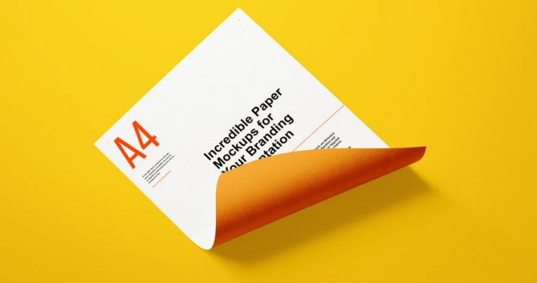 Flyers and Letter-Head Branding Mockup